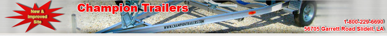 Trailer Parts & Repair Company | Discount Trailer Hubs, Springs, Bearings, Tires, & Brakes | Champion Trailers