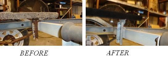 Bunk Bracket Repair